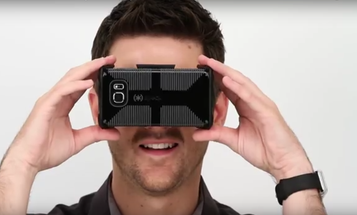 This VR Headset Folds To Fit In Your Pocket