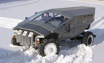 Russian Armored Car Concept Looks Like It Drove Out Of A Video Game