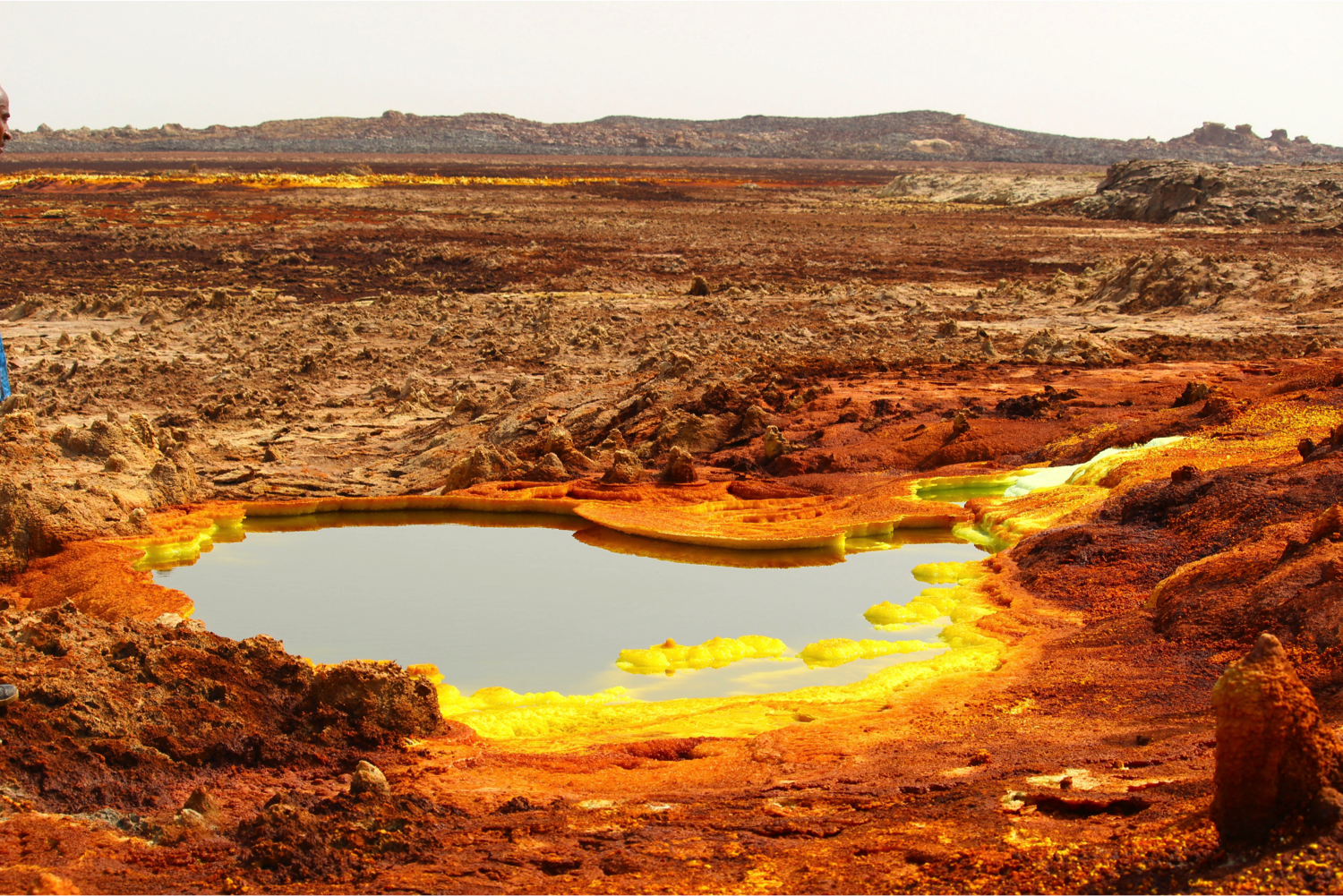 Scientists Get First Look At Ethiopia's Uncharted, Deadly Hot Spring
