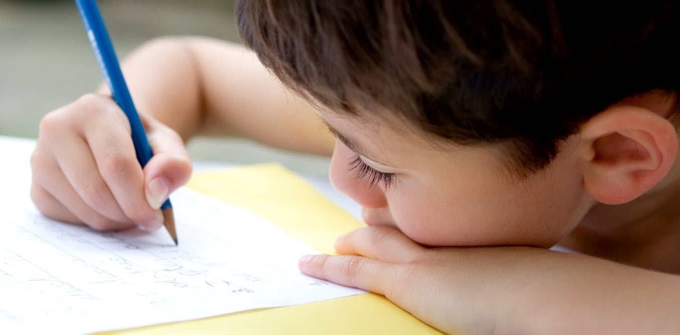 You probably shouldn't blame touchscreens for your kid's terrible handwriting