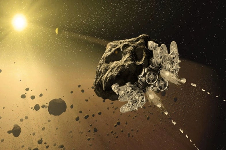 NASA Is Funding A Concept To Turn Asteroids Into Spaceships