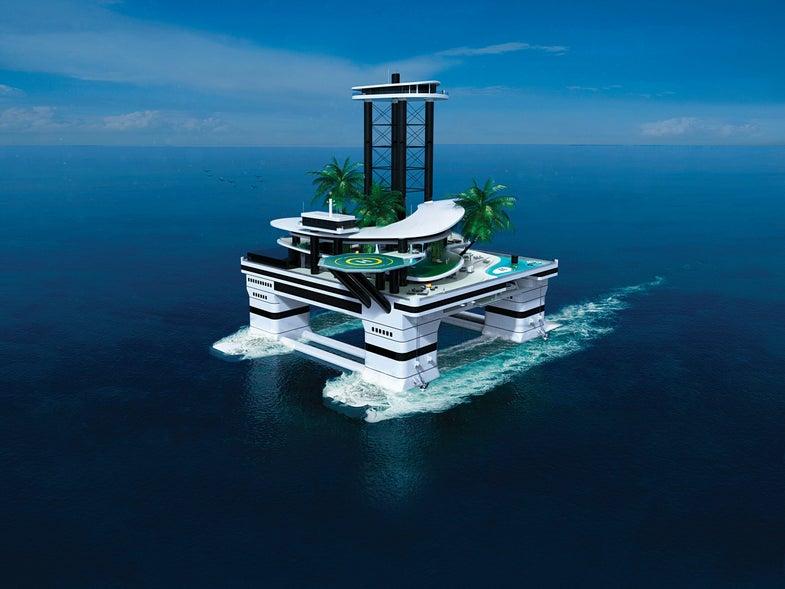 An Island Fit For A Bond Villain