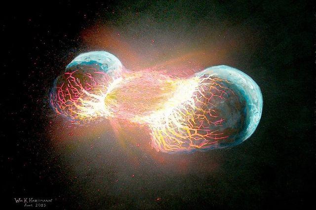 Theia-Earth Collision