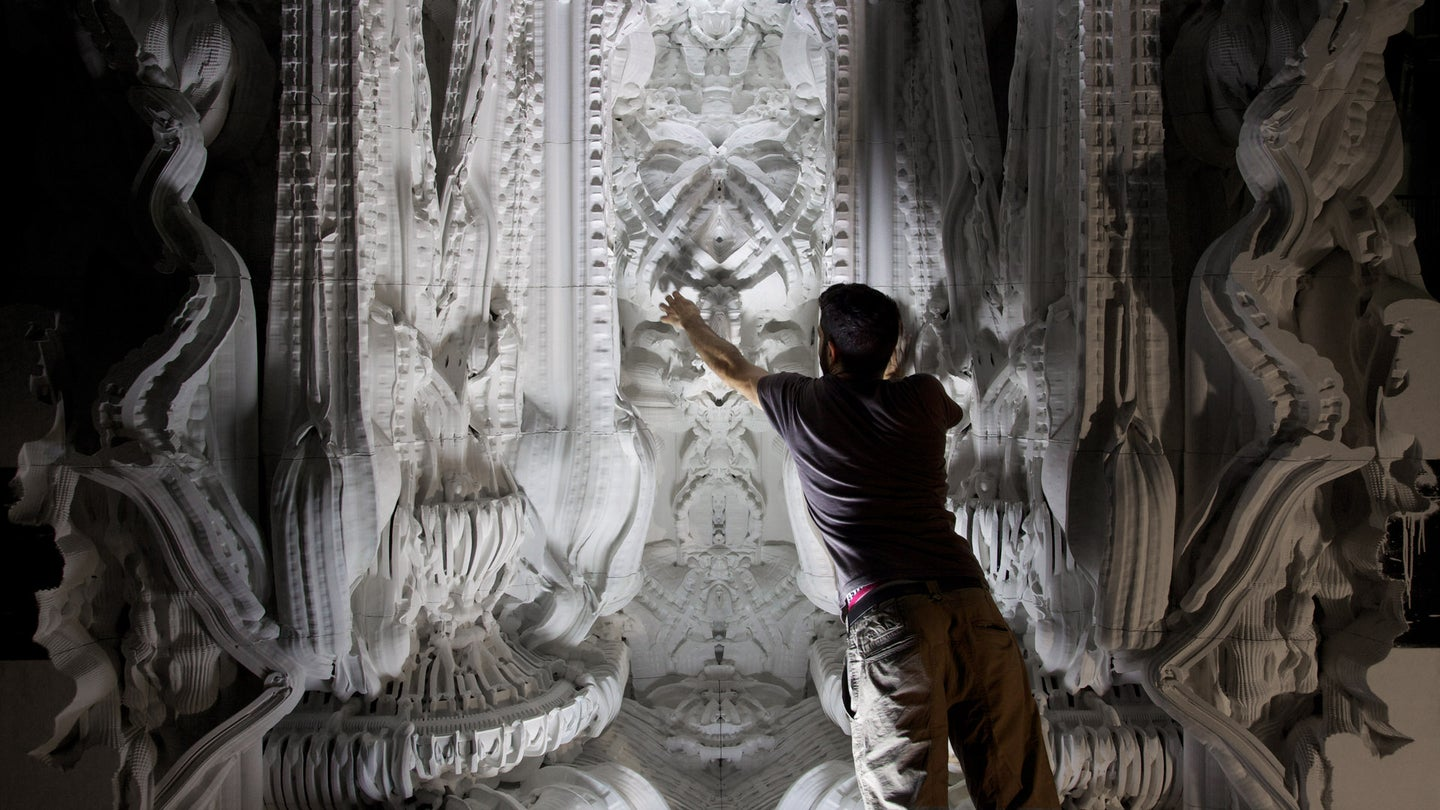 This Insanely Complex 3-D Printed Room Will Make Your Jaw Drop