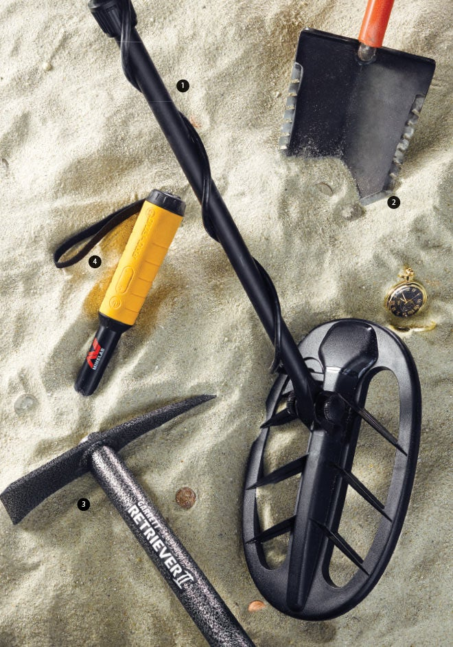 Metal-detecting essentials for your next treasure hunt