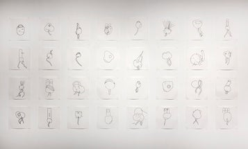 Watch This Autonomous Robot Artist Draw Abstract Figures