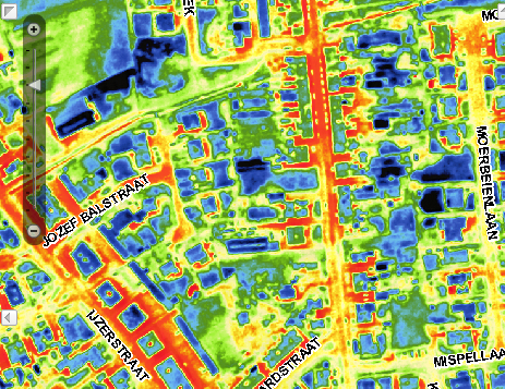 Infrared Maps Give Belgian Homeowners a Bird's-Eye View of Their Houses' Energy Efficiency