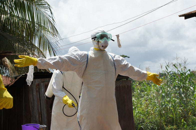 Louisiana Travel Ban Kept 30 Ebola Experts From Annual Meeting
