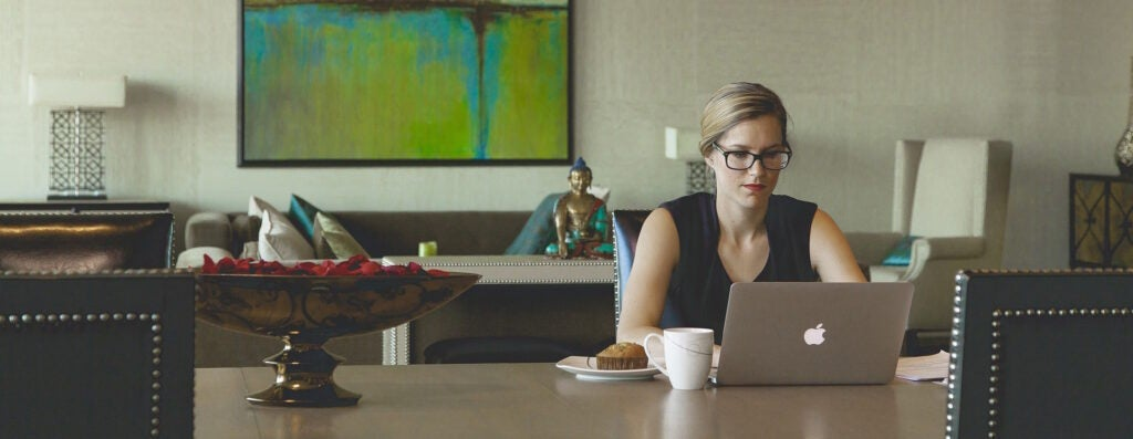 More people are working remotely, saving energy in the process.
