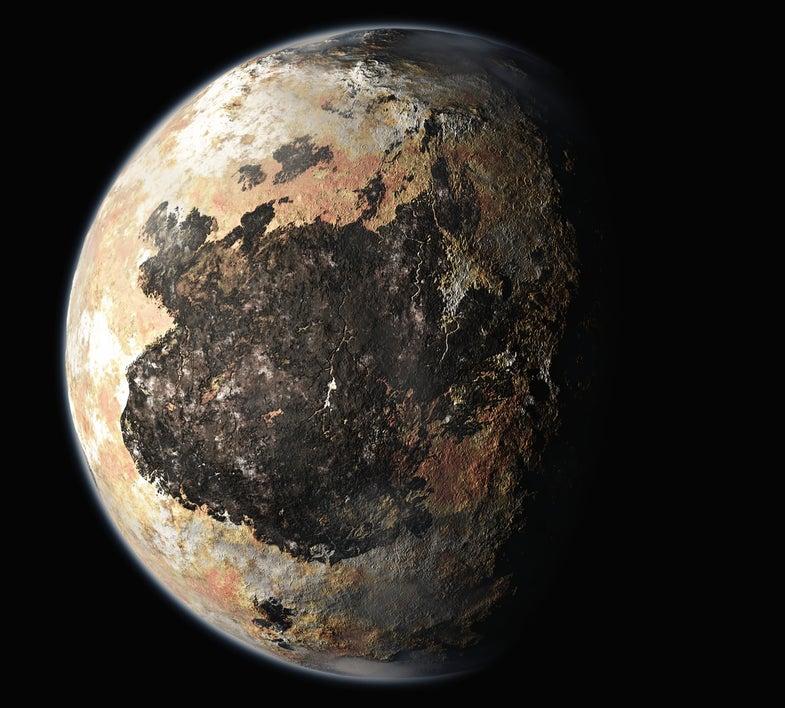 Scientists imagined Pluton