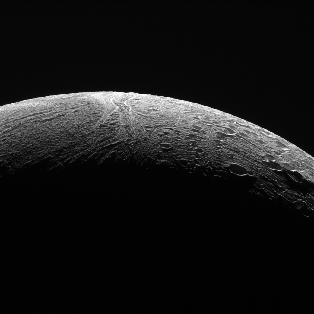 Cassini Mission Sends Back Amazing Pictures From Final Enceladus Flyby