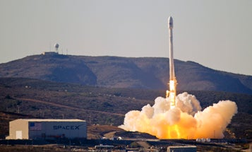 SpaceX Wins Its First Major Military Contract