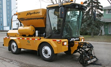 Python Truck Fixes Potholes in Two Minutes Flat