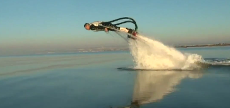 Video: A Water-Propelled 'Dolphin Jetpack'