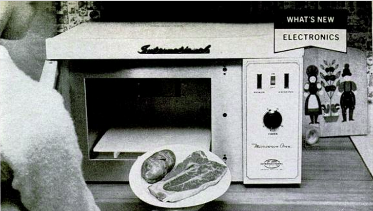 April 1968: Popular Science Tests the Brand-New Microwave Oven