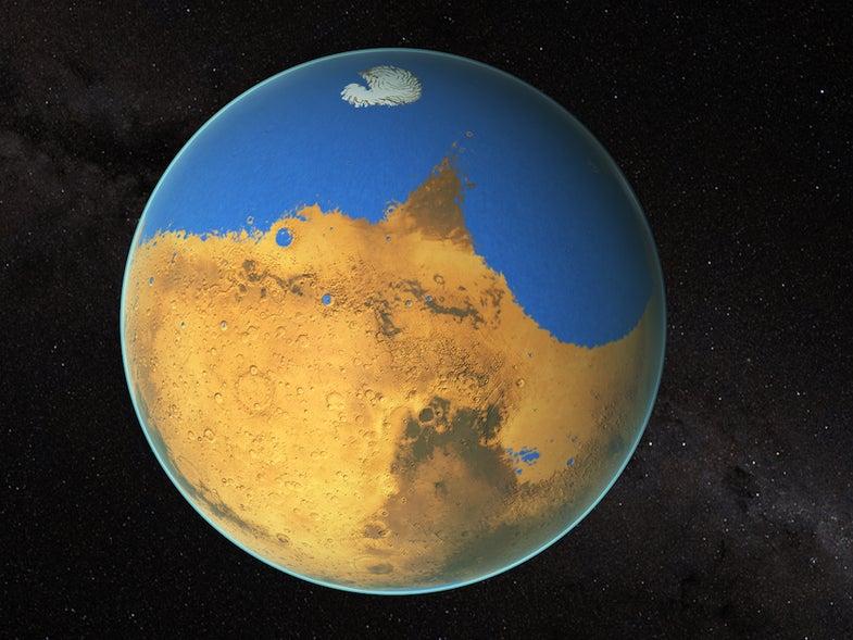 Ancient Ocean on mars