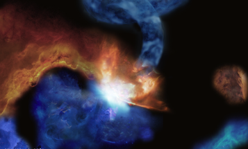 Science Has Discovered the 'Pigtail' Molecular Cloud and it is Beautiful