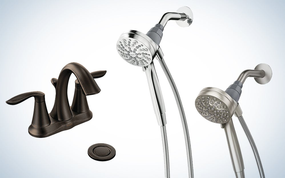 Moen faucets and shower heads