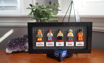 Women of NASA Get LEGO-sized Tribute