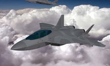 The Jet Fighter Of The 2040s Will Be A Stealthy Drone Herder