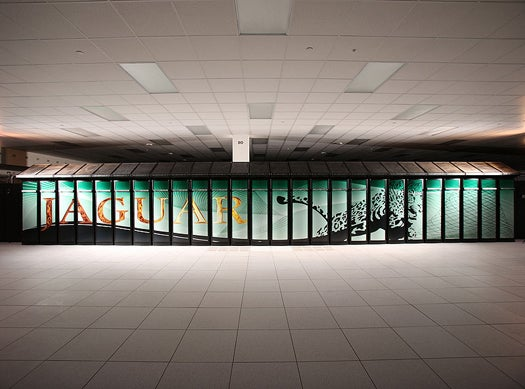 Jaguar is Getting a GPU Upgrade, to Make it the World's Fastest Supercomputer Again