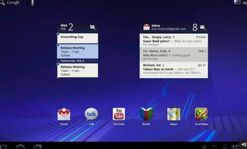 Google Shows Off Tablet-Friendly Android 3.0 and the Motorola Xoom Tablet