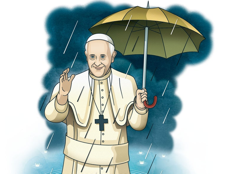 Clone of Pope Francis' Climate Change Ephipany