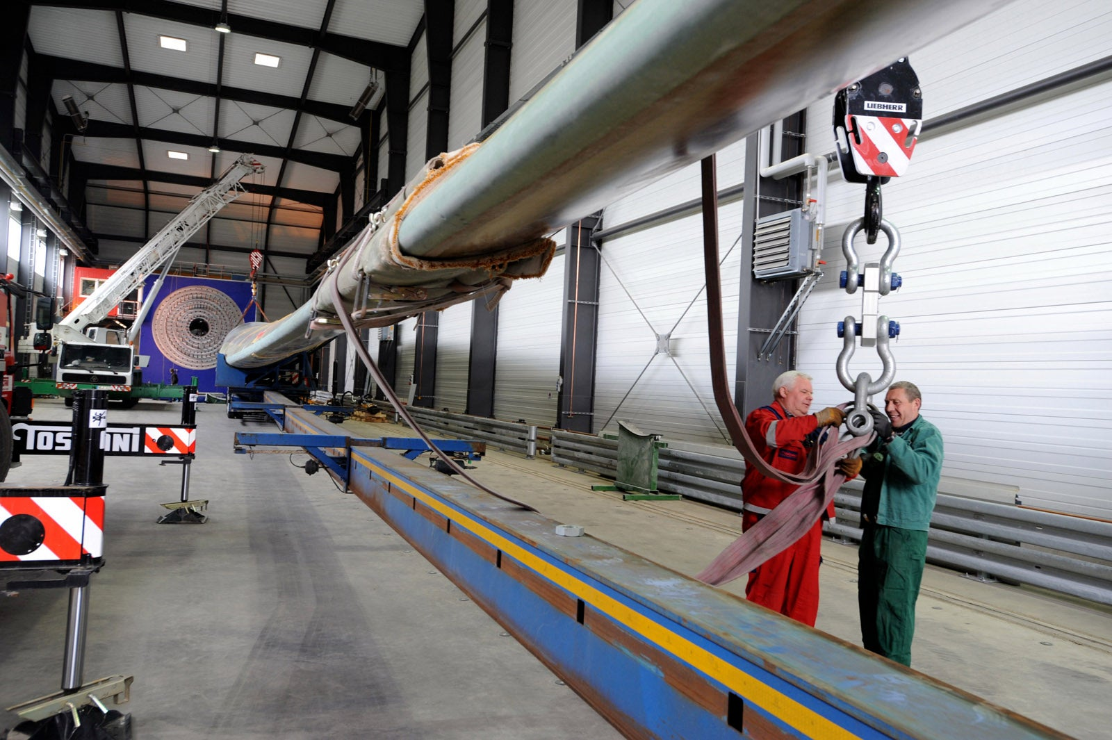Tremendous Wind Turbines Require Extreme Testing Facilities