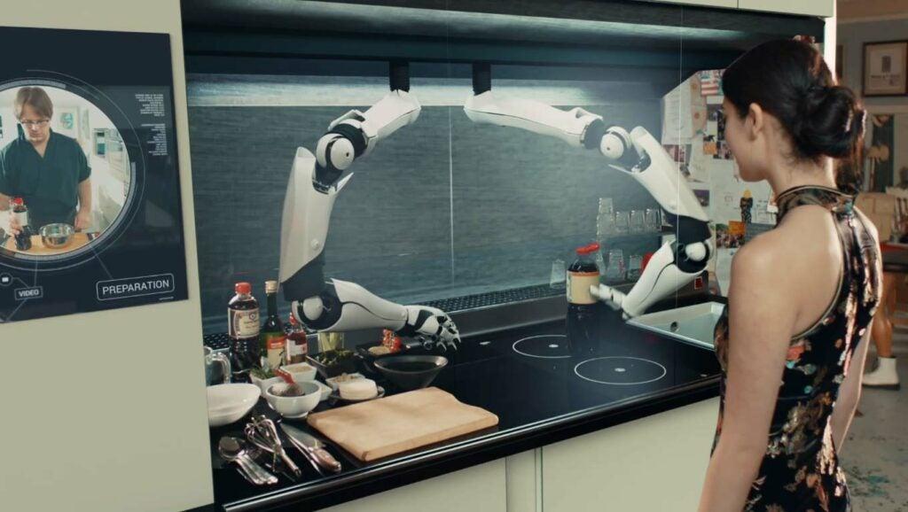 The Moley robot chef