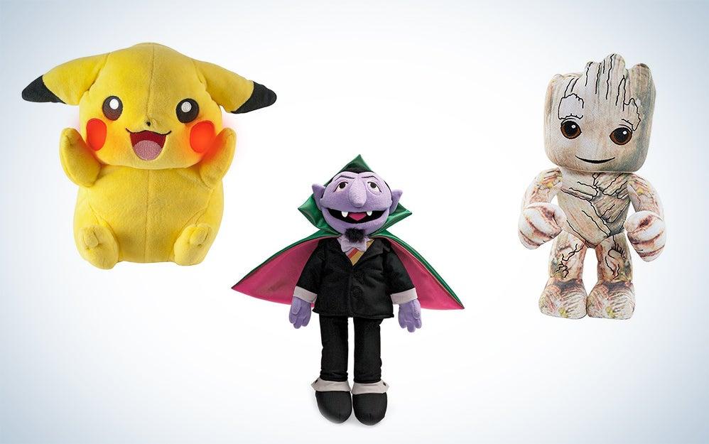 Stocking stuffer plush toys