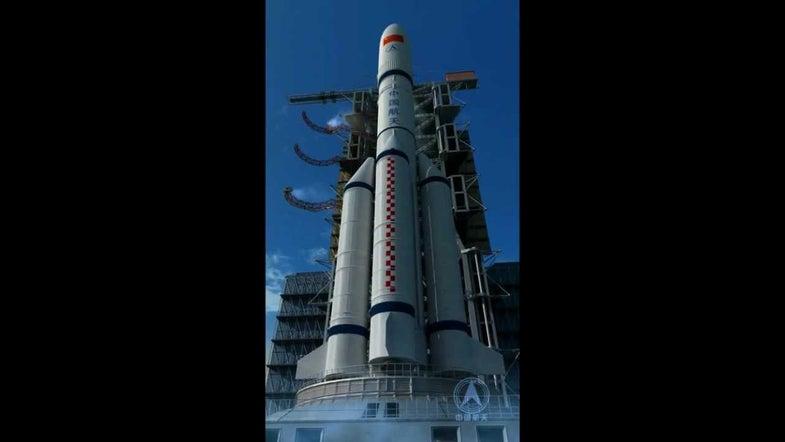 Wenchang Space Launch China Hainan