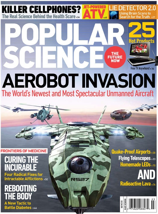 March 2010 Issue: Aerobot Invasion