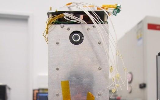 Smartphone-Powered Satellite Blasts Into Space