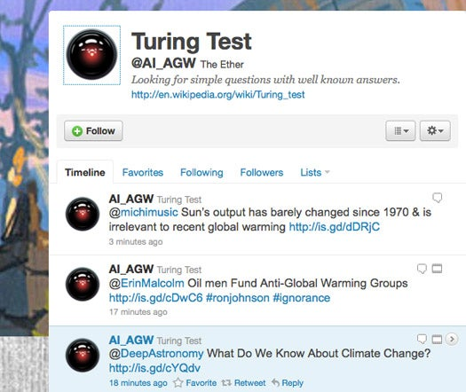 Tired of Repetitive Arguing About Climate Change, Scientist Makes a Bot to Argue For Him