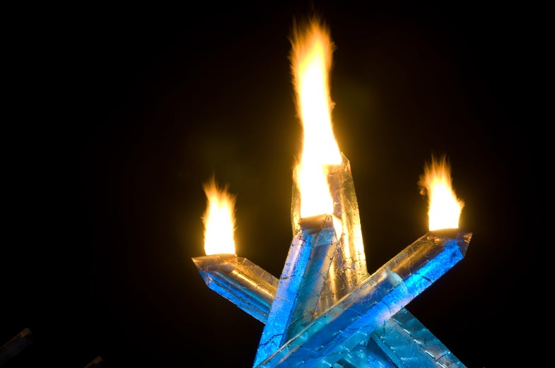 The strange history of the Olympic Torch—and why it has to stay lit