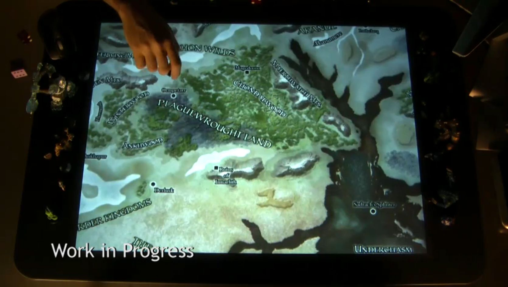 Video: Play Dungeons and Dragons on Microsoft's Surface Table