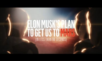 Elon Musk's Plan To Get Us To Mars (In Less Than 90 Seconds)