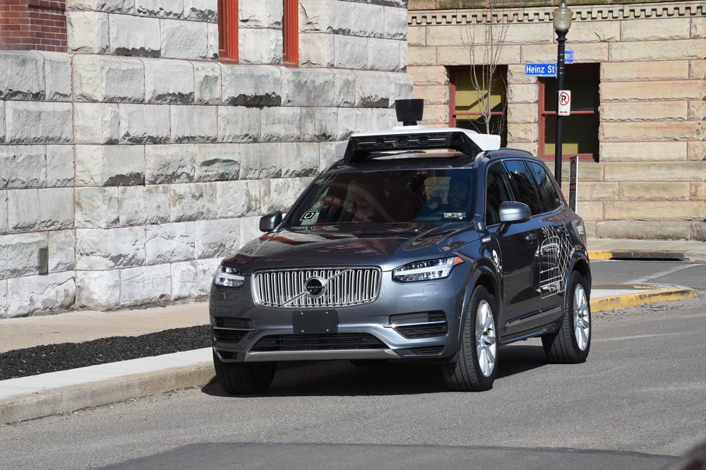 A self-driving Uber hit and killed a pedestrian in Arizona