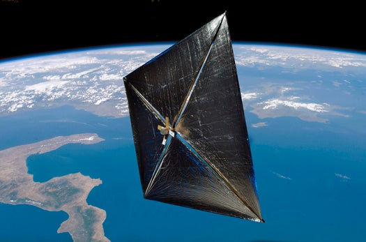 NASA Launches a Nanosatellite from a Microsatellite for the First Time