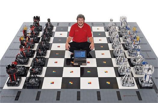 You Built What?! A Supersize Robotic Chess Set