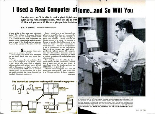 Time-Sharing on a Datanet-30: May 1967