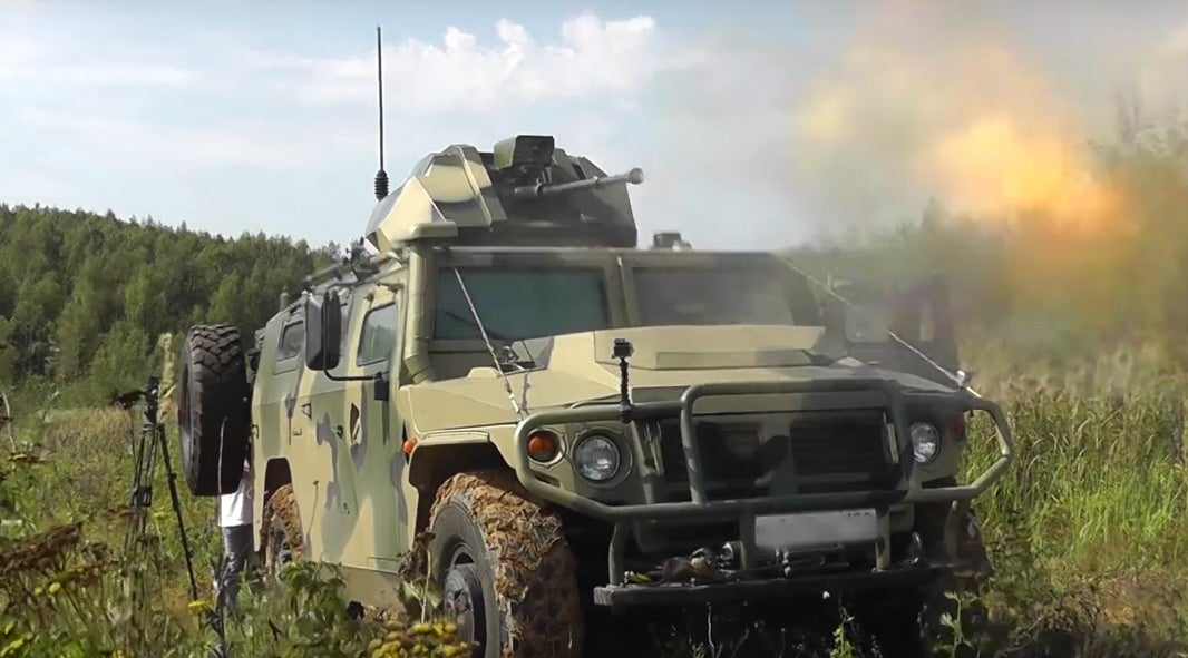 Tigr With Remotely Controlled Gun
