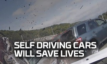 'Future First': Self-Driving Cars Will Save Lives