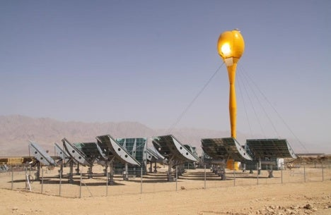 First Hybrid Solar/Natural Gas Power Station Goes Online in Israel