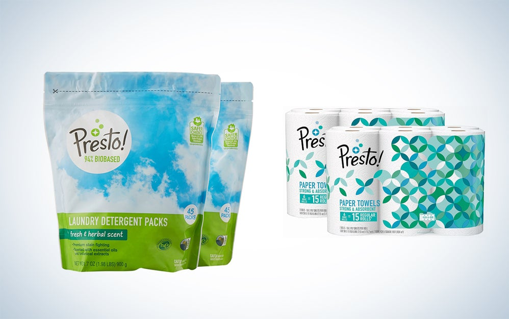 Presto spring cleaning supplies