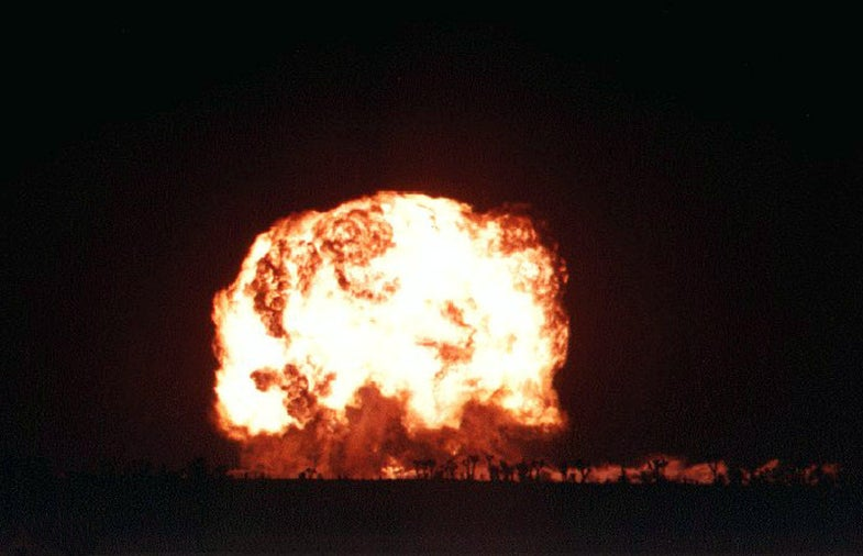 Operation Plumbbob and the Psychology of a Nuclear Blast