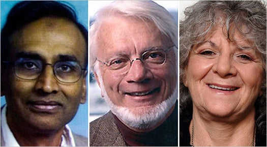 Chemists Win Nobel Prize For Atom-by-Atom Ribosome Map
