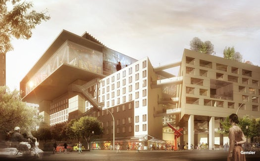 Reimagining Buildings Of The Past With The Materials Of The Future