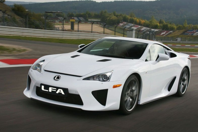 Lexus LFA Debuts in Tokyo: A Big-Bucks Toyota Supercar