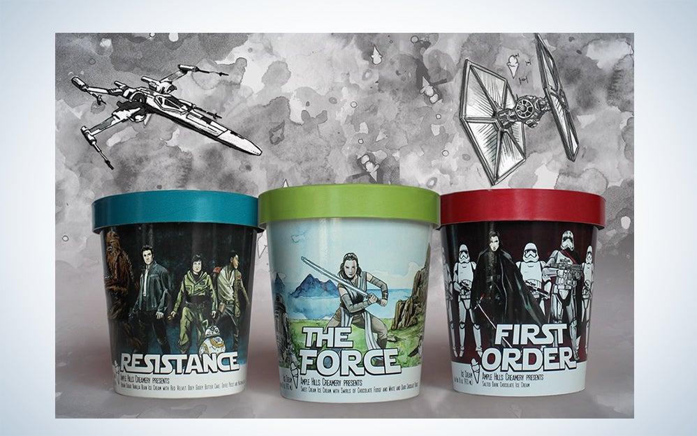 Ample Hills Star Wars 3-Pack Ice Cream